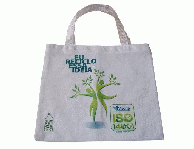 Sacola ecológica promocional 10.016